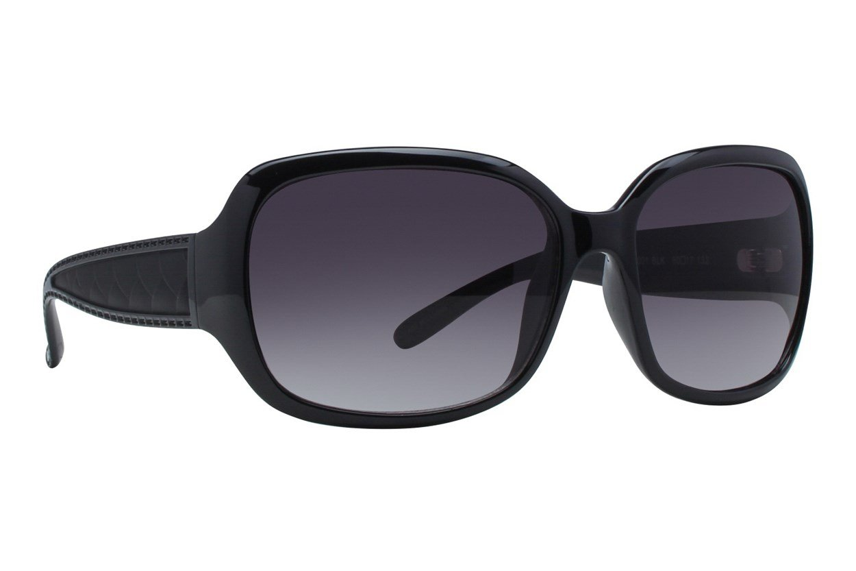 DNA 1001 Black Sunglasses