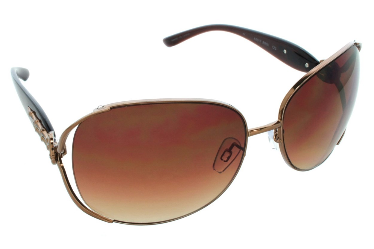 DNA 1017 Brown Sunglasses