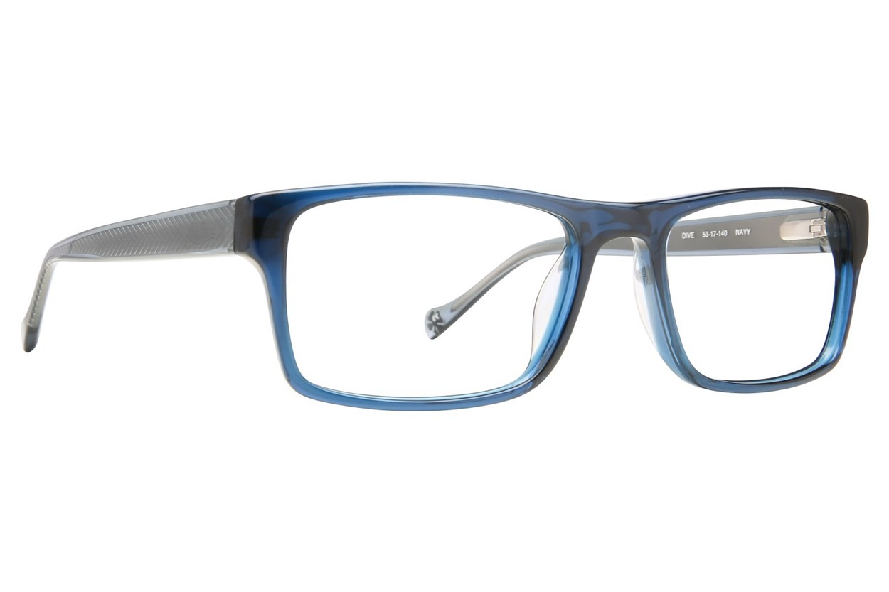 Lucky Dive Blue Glasses