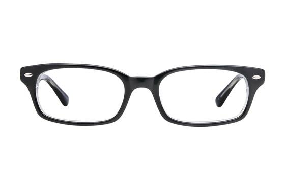 Lucky Wonder Black Glasses