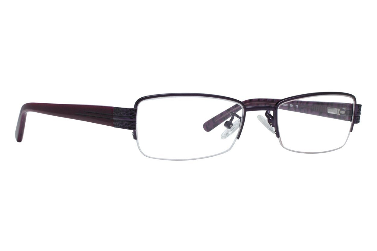 Red Lotus 203m Purple Glasses