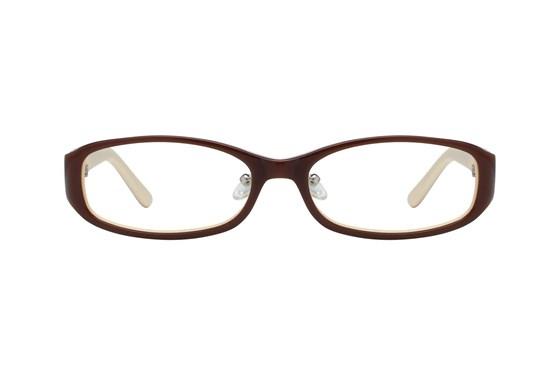 Red Lotus 204z Brown Glasses
