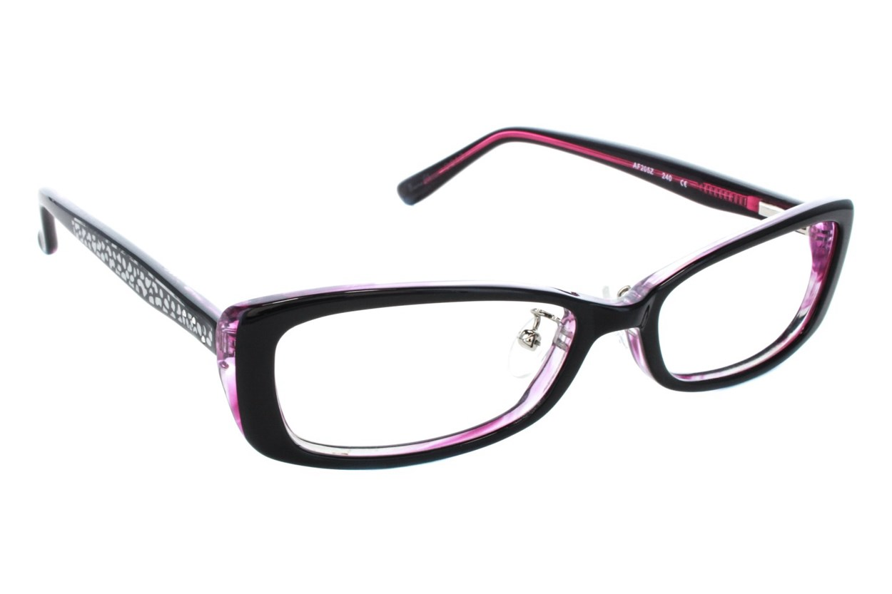 Red Lotus 205z Eyeglasses - Purple