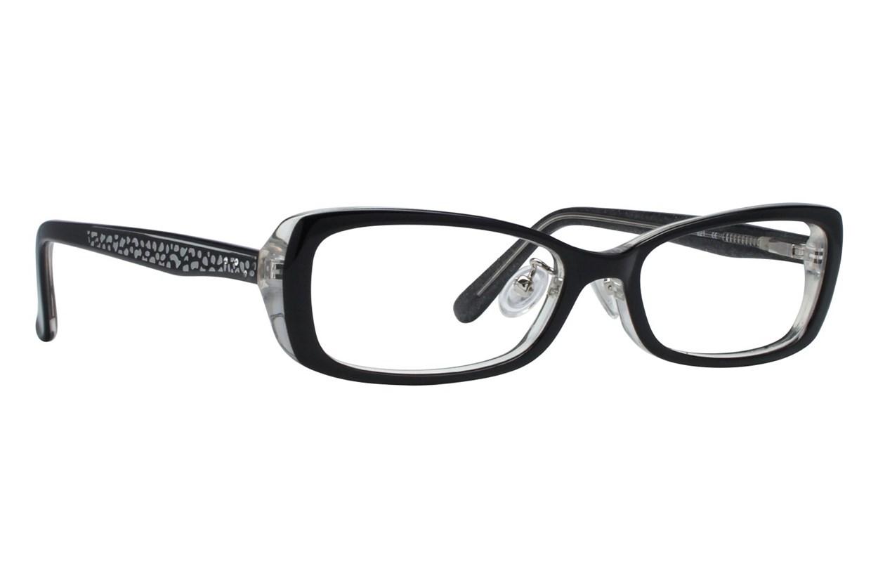 Red Lotus 205z Black Glasses