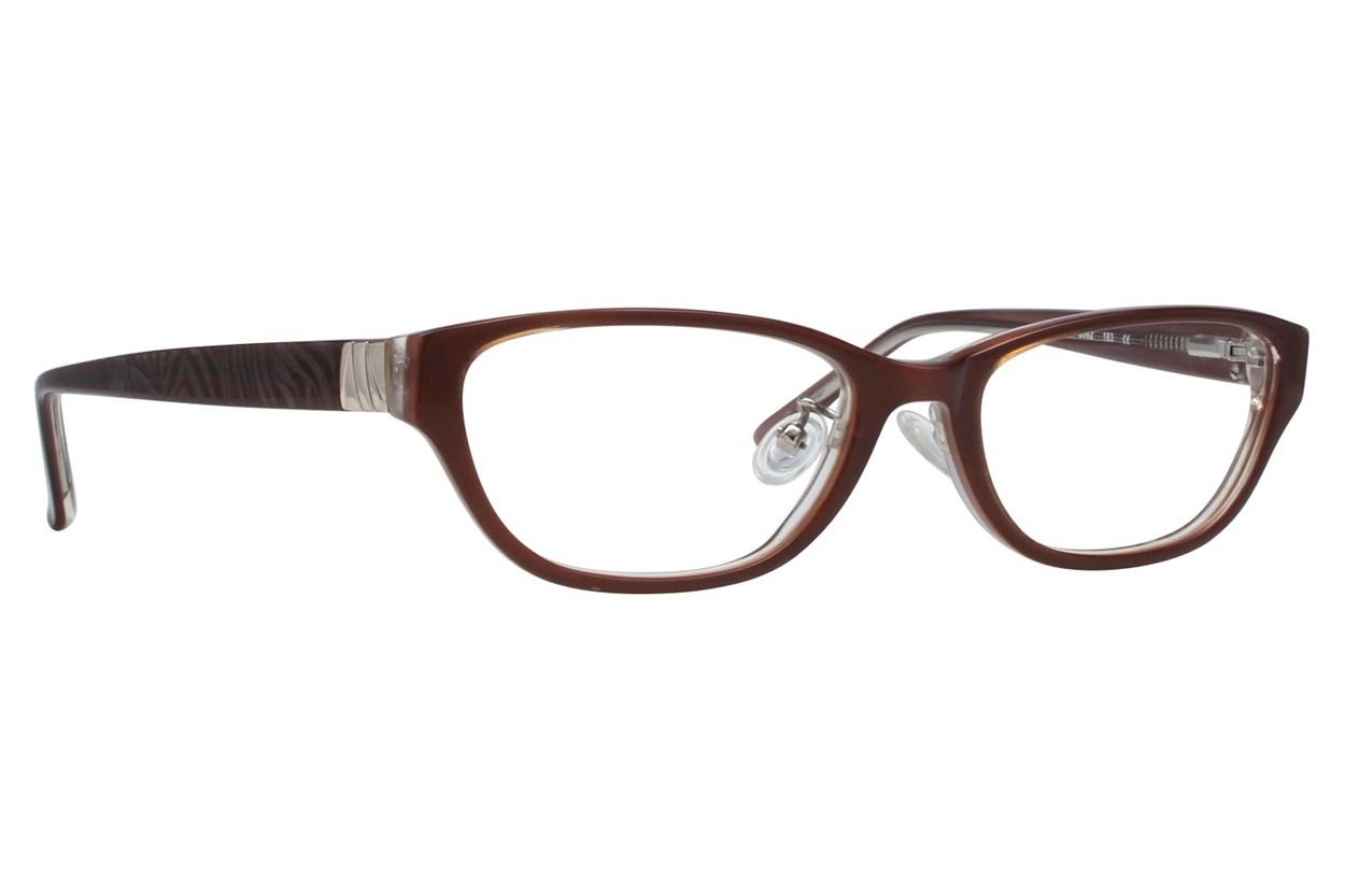 Red Lotus 208z Brown Glasses
