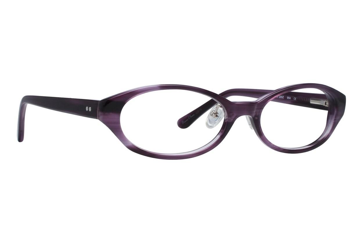 Red Lotus 209z Purple Glasses