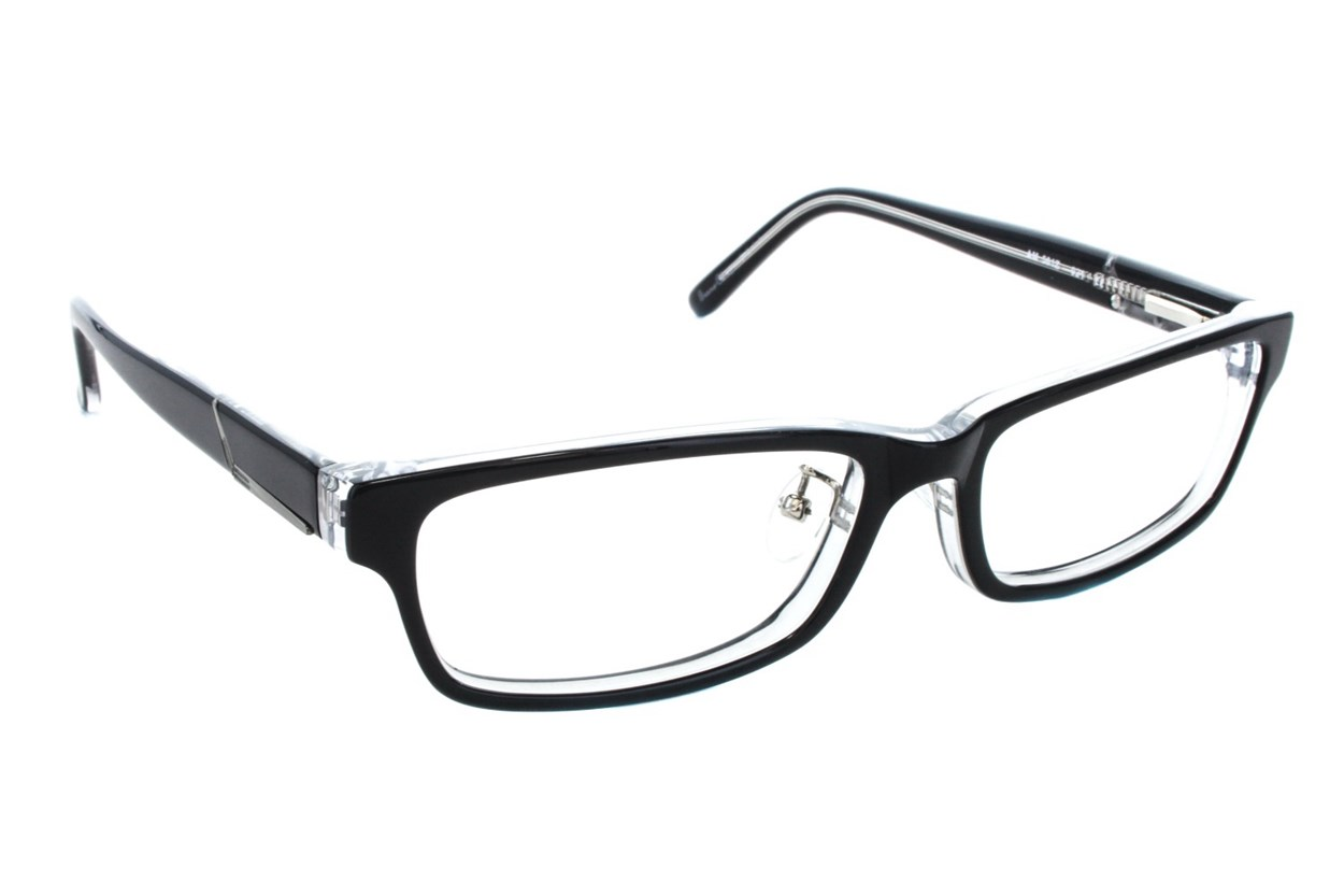 Red Tiger 501z Eyeglasses - Black