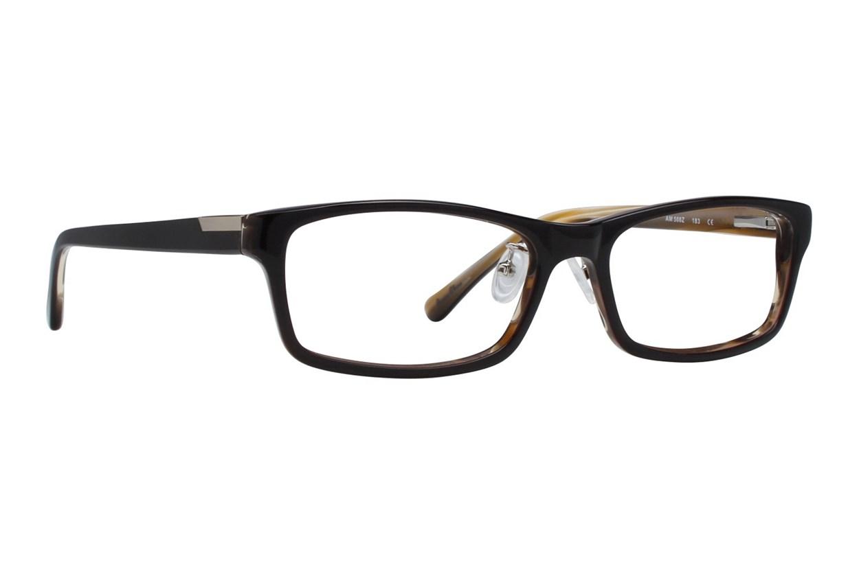 Red Tiger 508z Brown Glasses