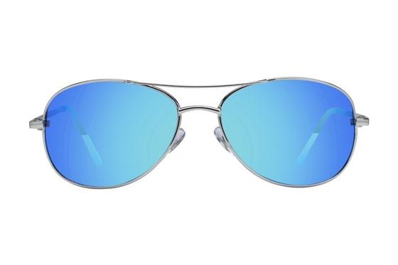 Anarchy Fugitive Silver Sunglasses