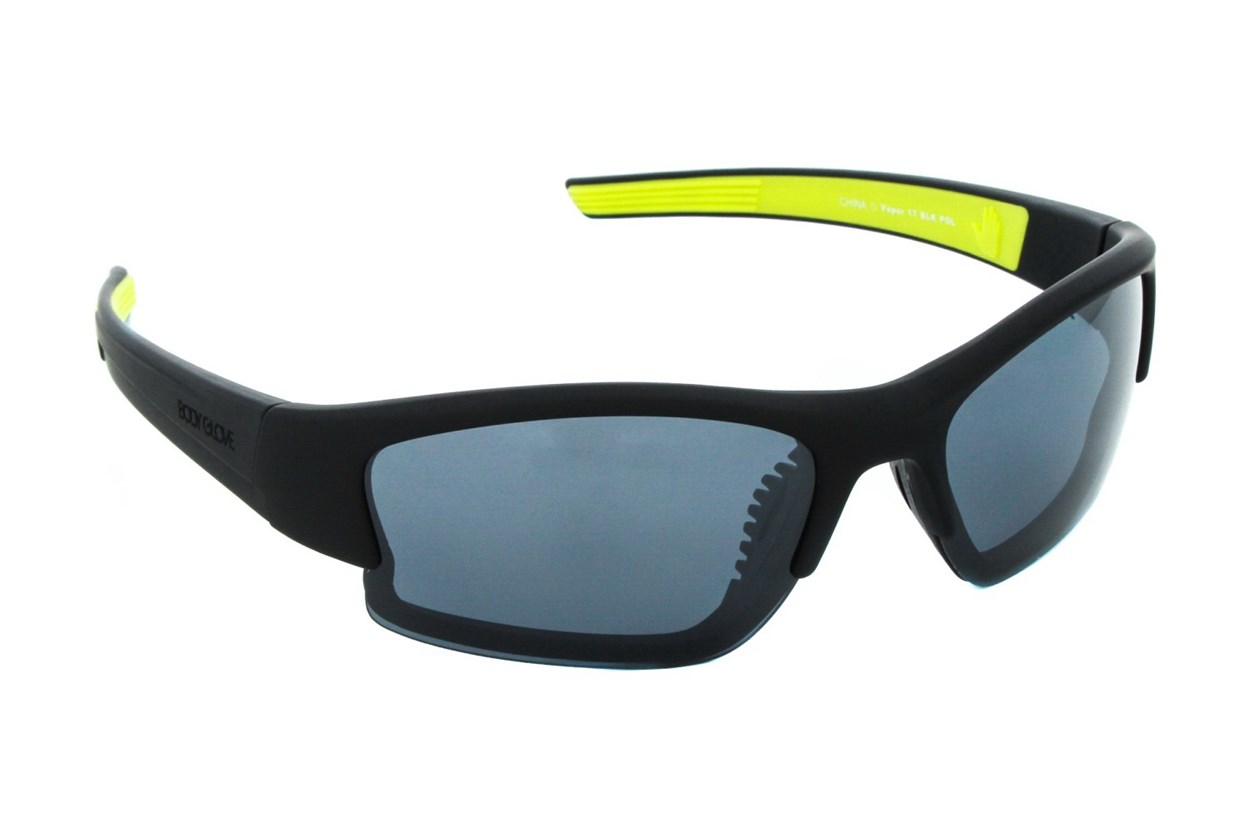 Body Glove Vapor 17 Sunglasses - Black