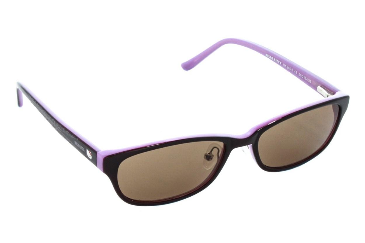Hello Kitty HK245 Sun Purple Sunglasses