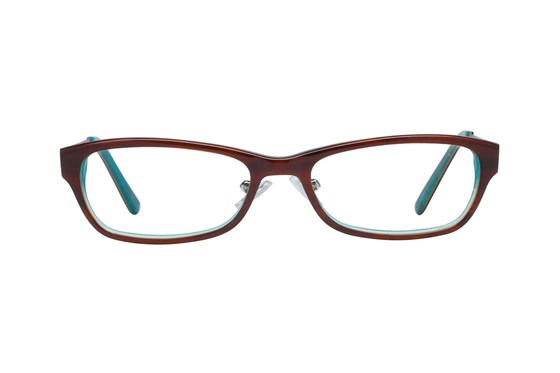 Hello Kitty HK247 Brown Glasses