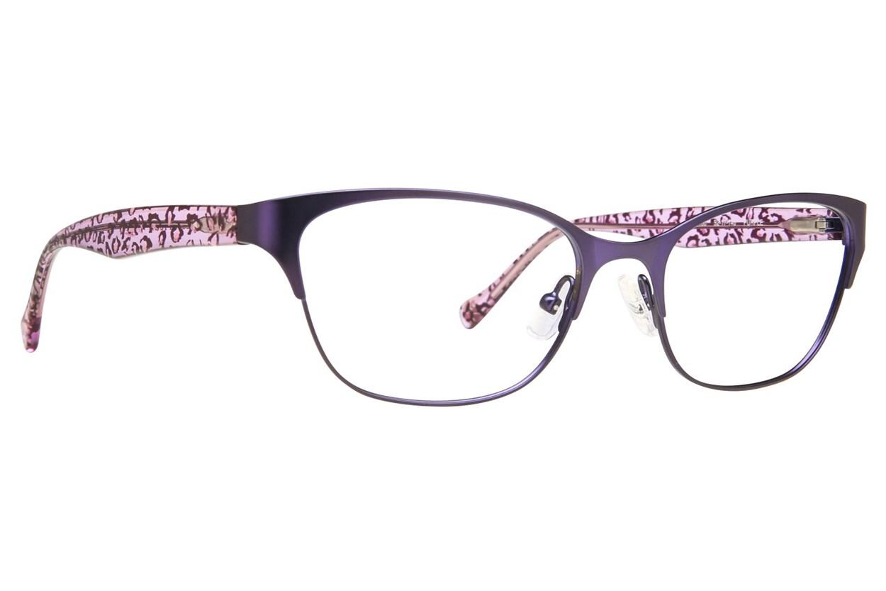 Lucky D100 Purple Glasses