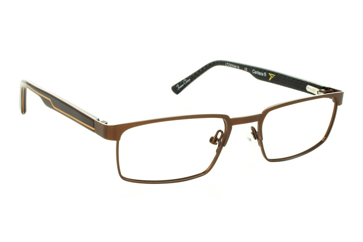 Cantera Lugnut Eyeglasses - Brown