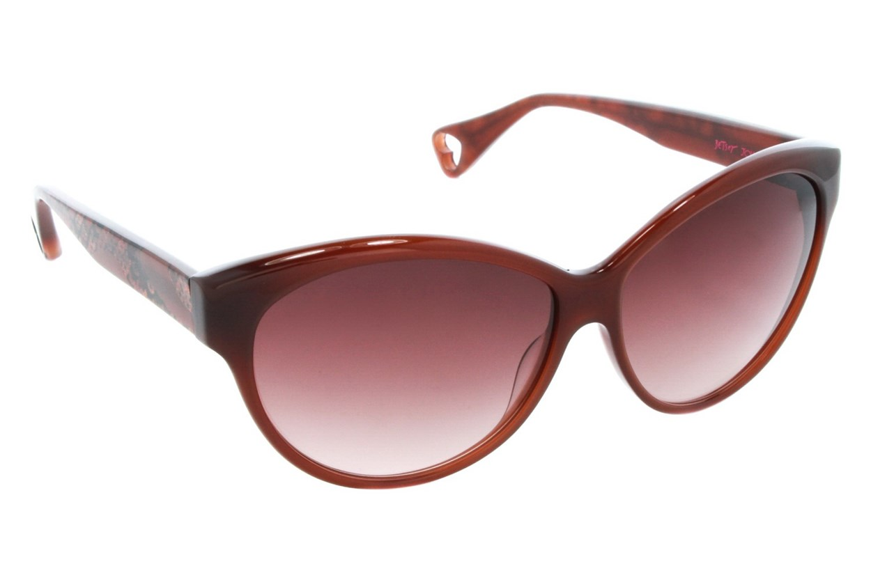 Betsey Johnson Galaxy Quest Sunglasses - Brown