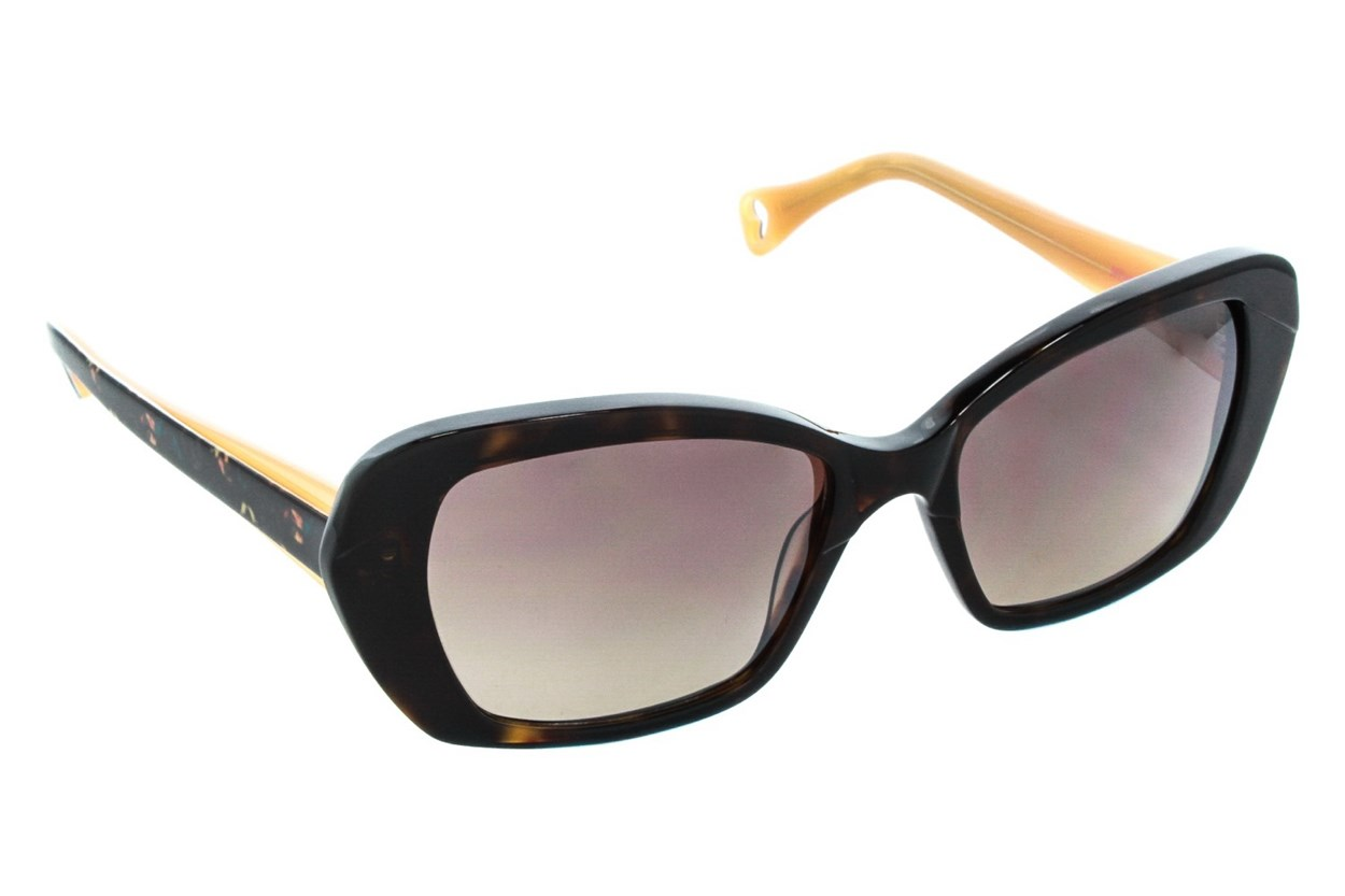 Betsey Johnson Vintage Vines Sunglasses - Brown