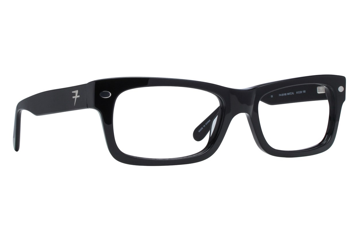 Fatheadz Matz Black Glasses