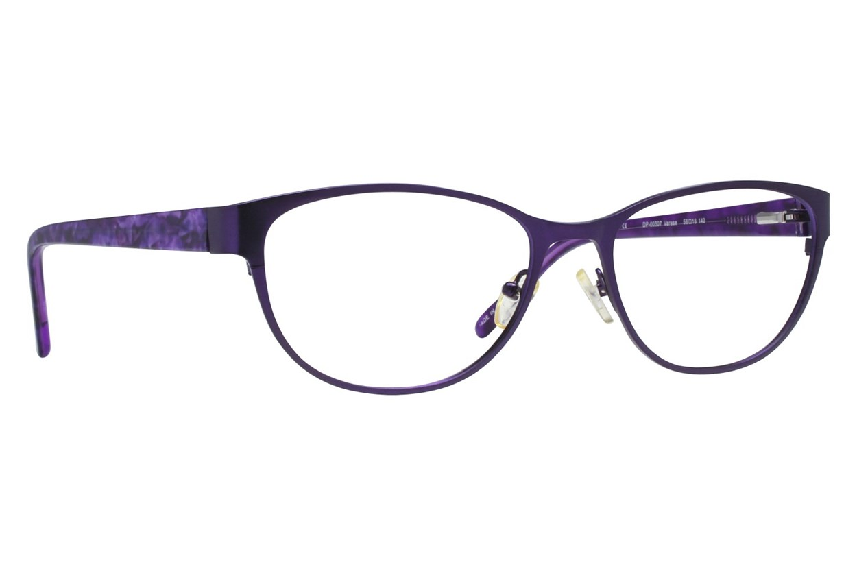Dea Extended Size Varese Purple Glasses
