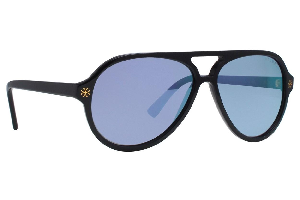 Velvet Eyewear Ava Black Black Sunglasses