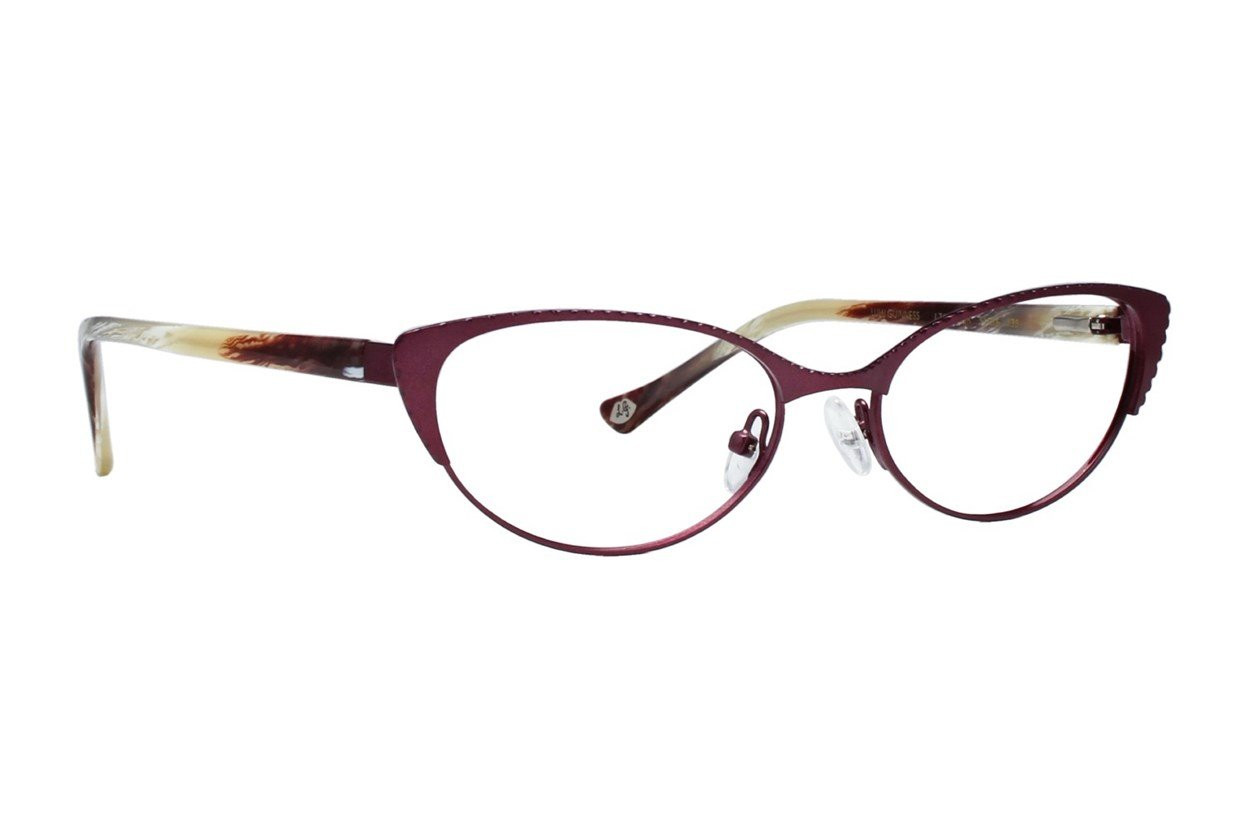 Lulu Guinness L763 Red Glasses
