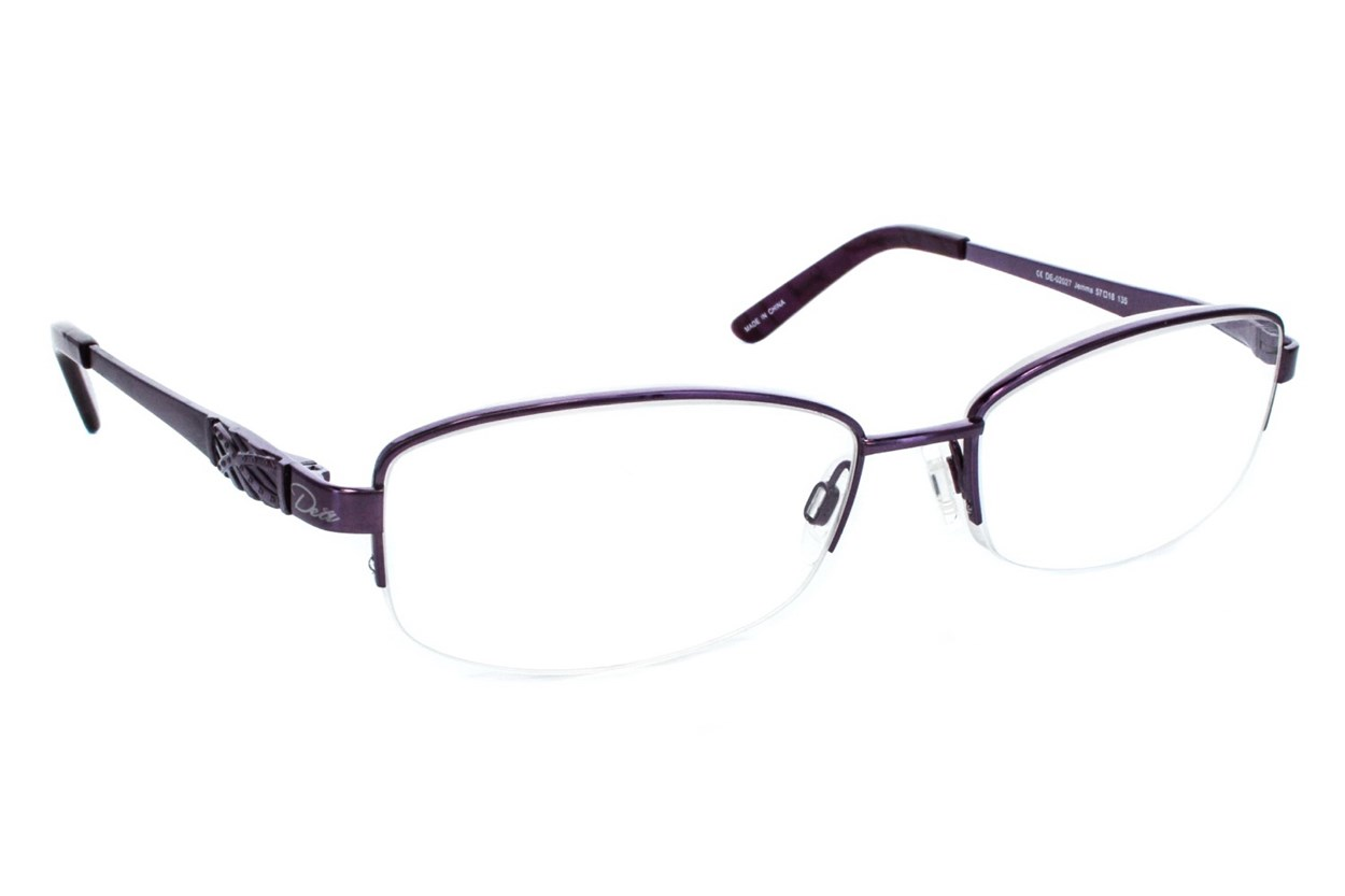 Dea Extended Size Jemma Reading Glasses Purple ReadingGlasses