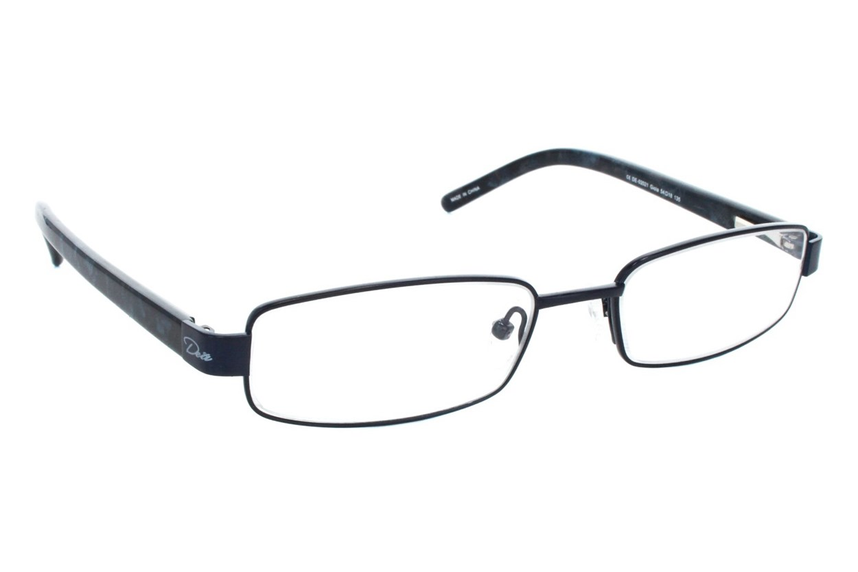 Dea Extended Size Gioia Reading Glasses Black
