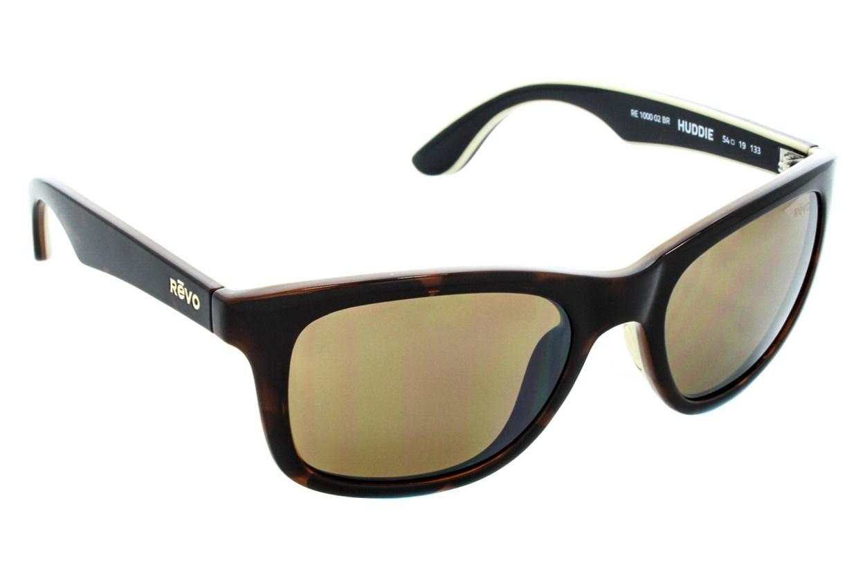 Revo Huddie Tortoise Sunglasses