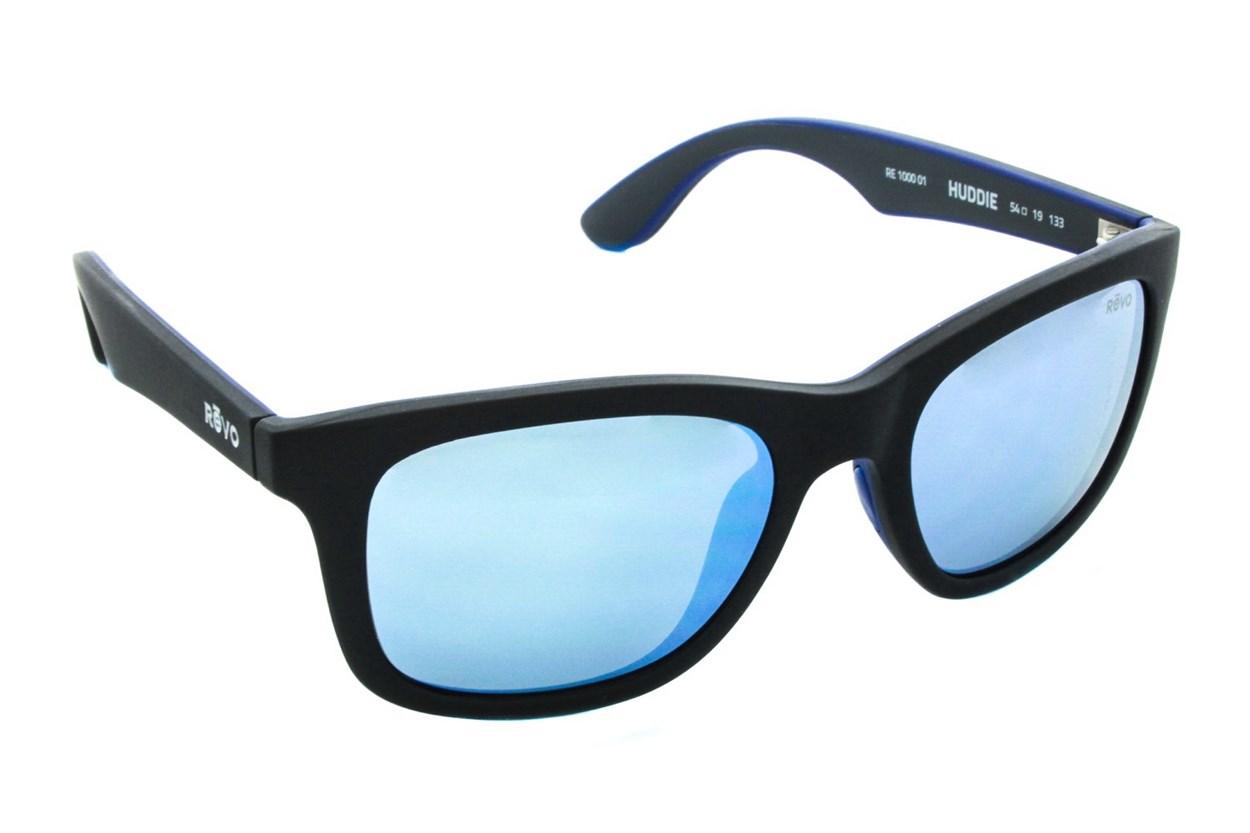 Revo Huddie Black Sunglasses
