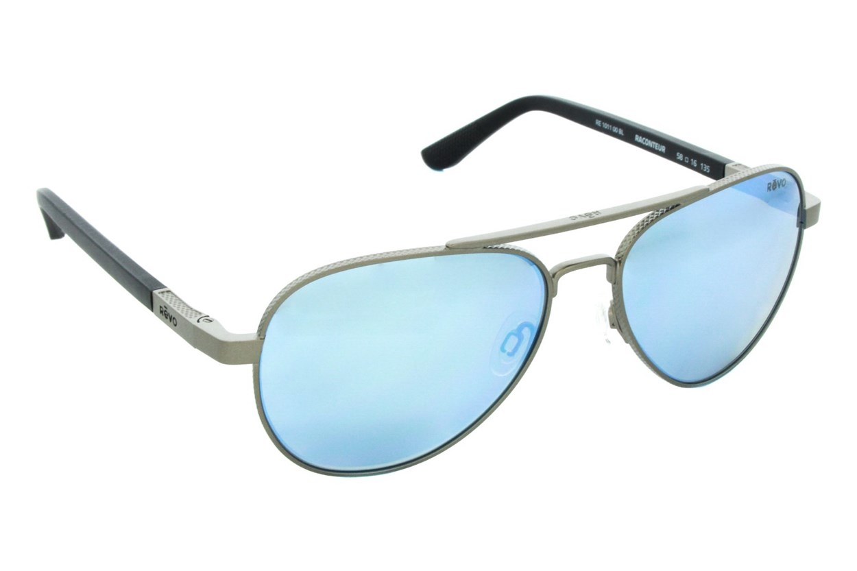 Revo Raconteur Gray Sunglasses