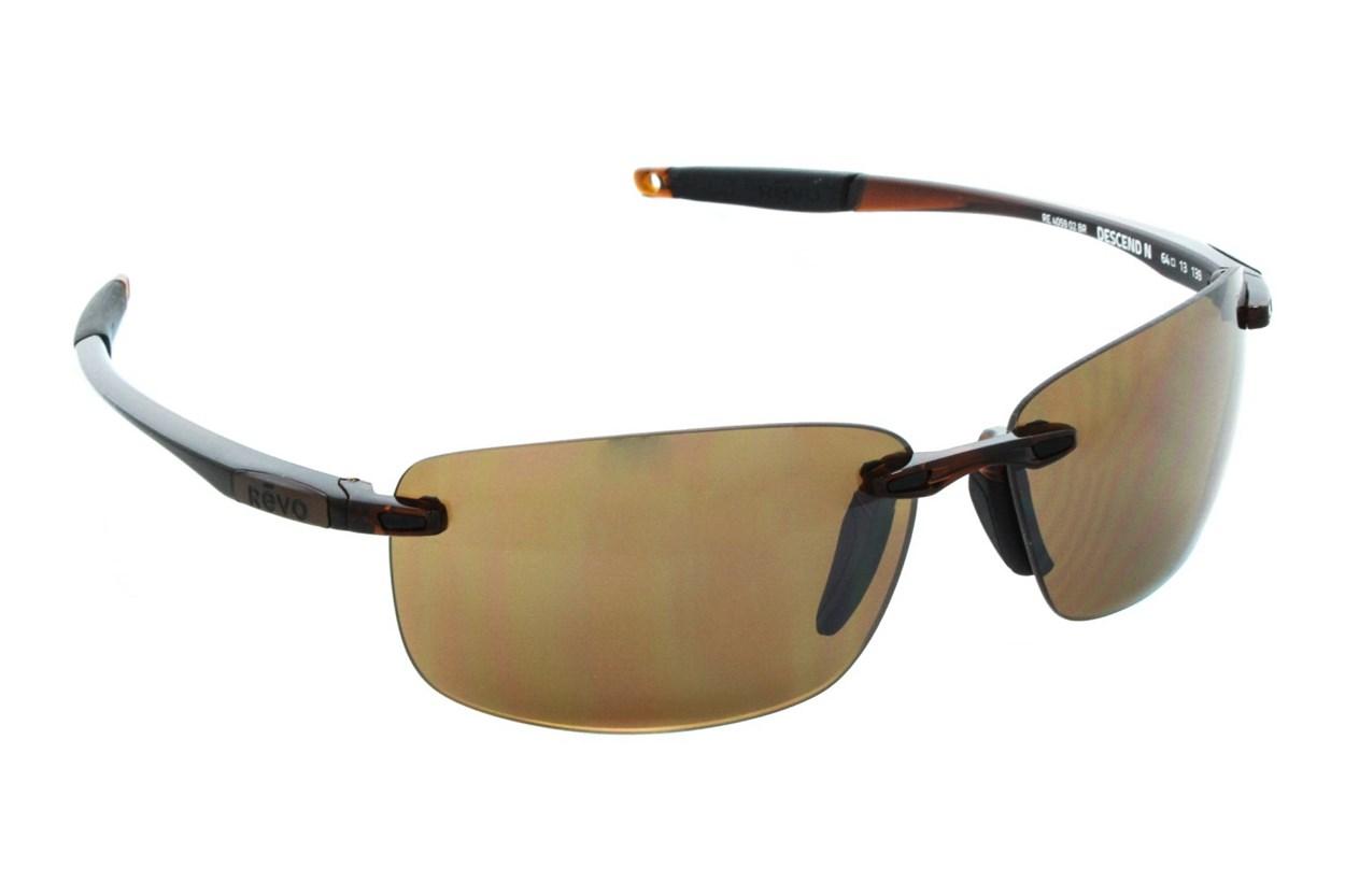 Revo Descend N Brown Sunglasses