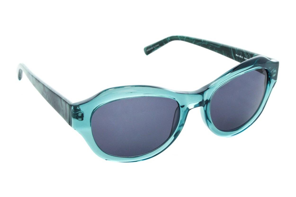Badgley Mischka Alaina Blue Sunglasses