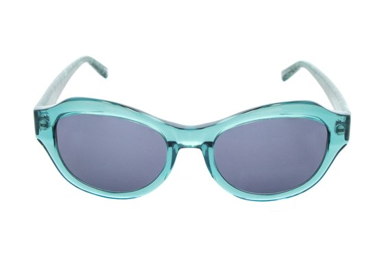 Badgley Mischka Alaina Blue Sunglasses