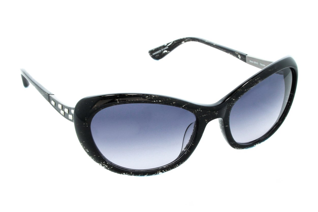 Badgley Mischka Clarette Black Sunglasses
