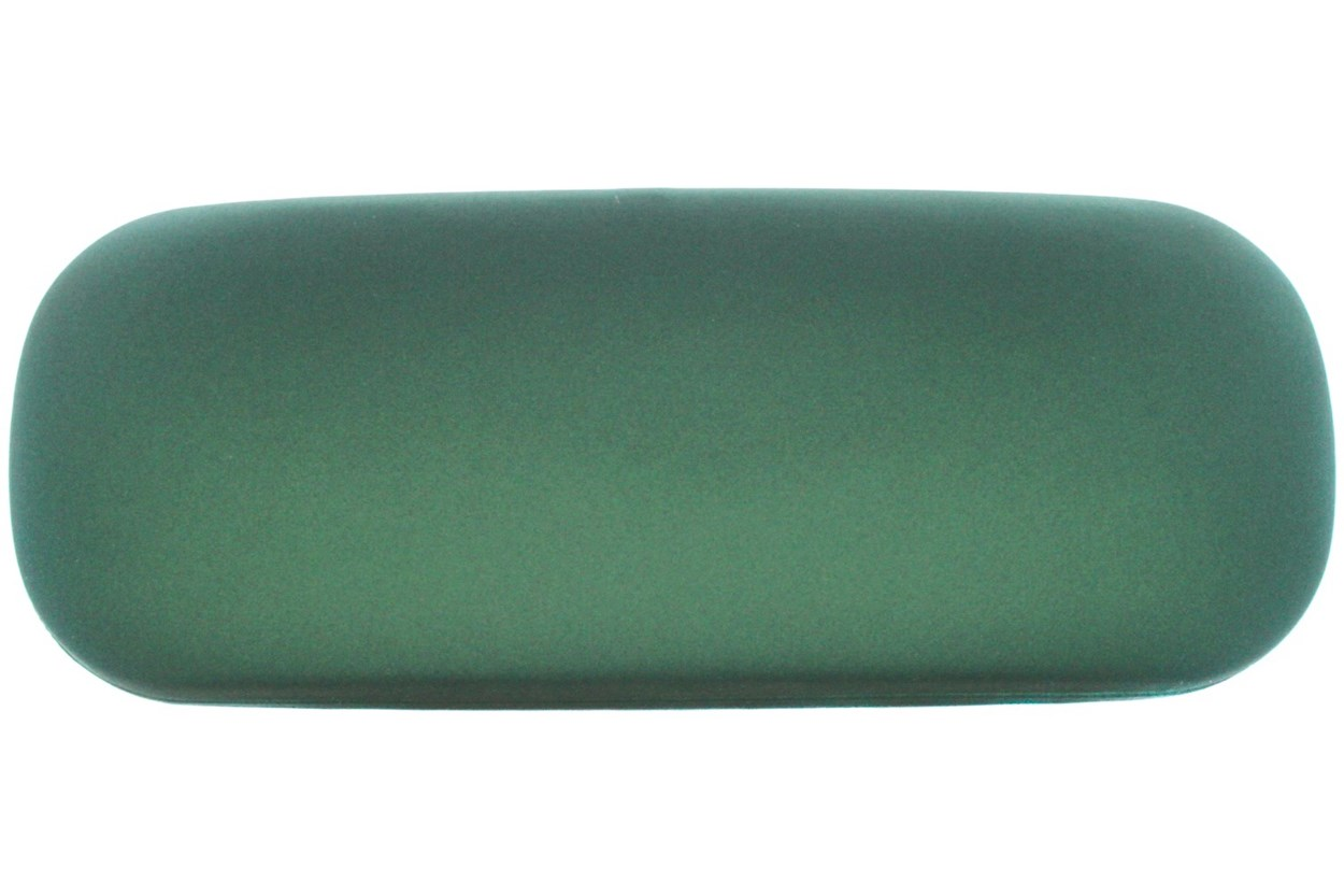 Amcon Protective Clam Eyeglasses Case Colors 50 - Green