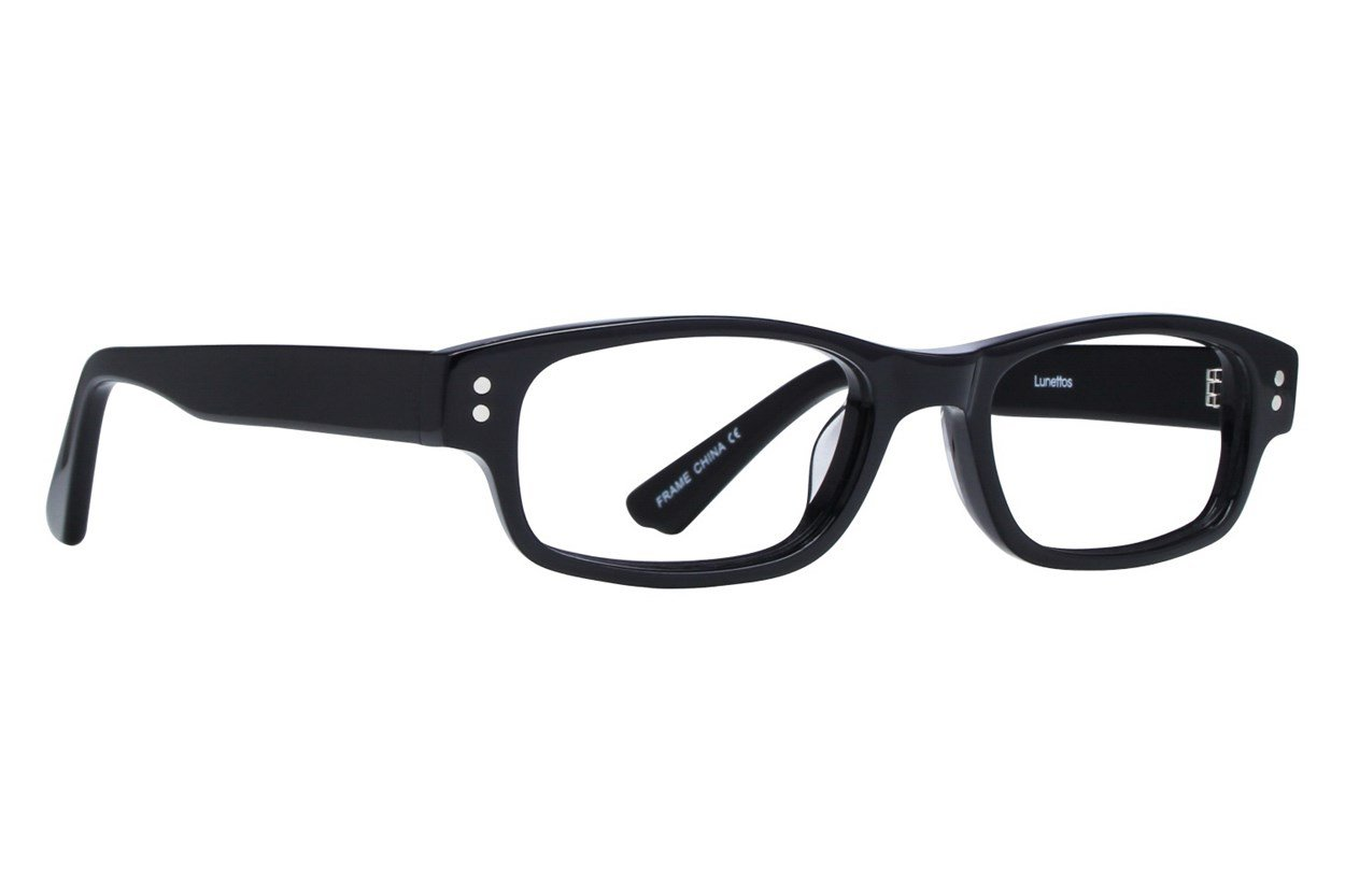 Lunettos Carter Eyeglasses - Black