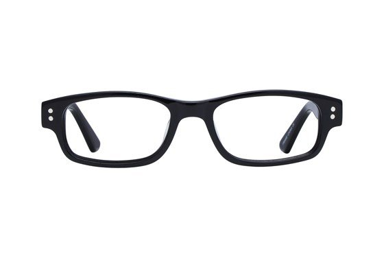 Lunettos Carter Black Glasses