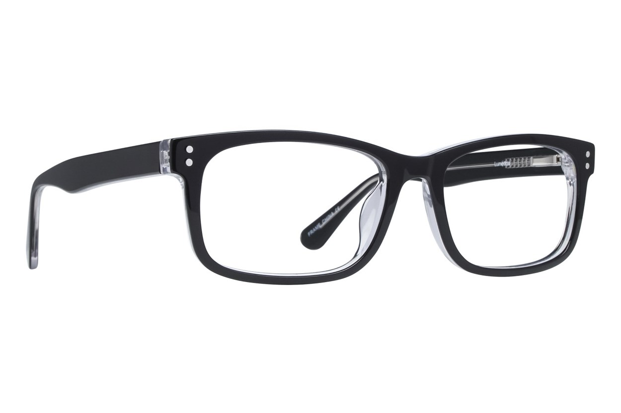 Lunettos Christopher Black Glasses
