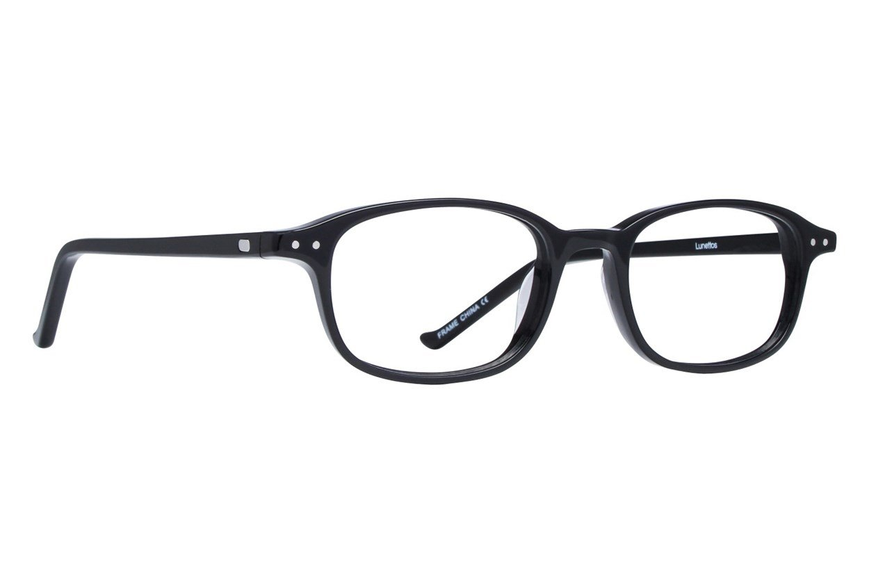 Lunettos Cullen Black Glasses