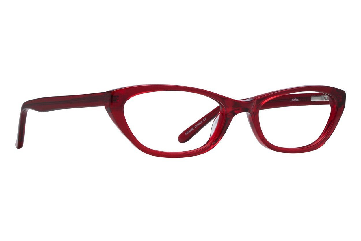Lunettos Emily Red Glasses