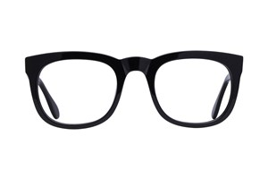 Lunettos Jeff Black Glasses