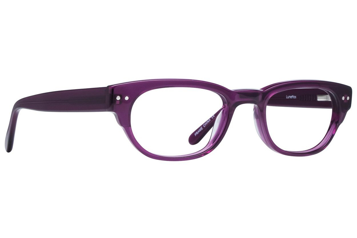 Lunettos Kylee Purple Glasses