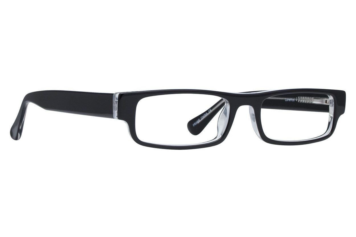 Lunettos Phillip Black Glasses