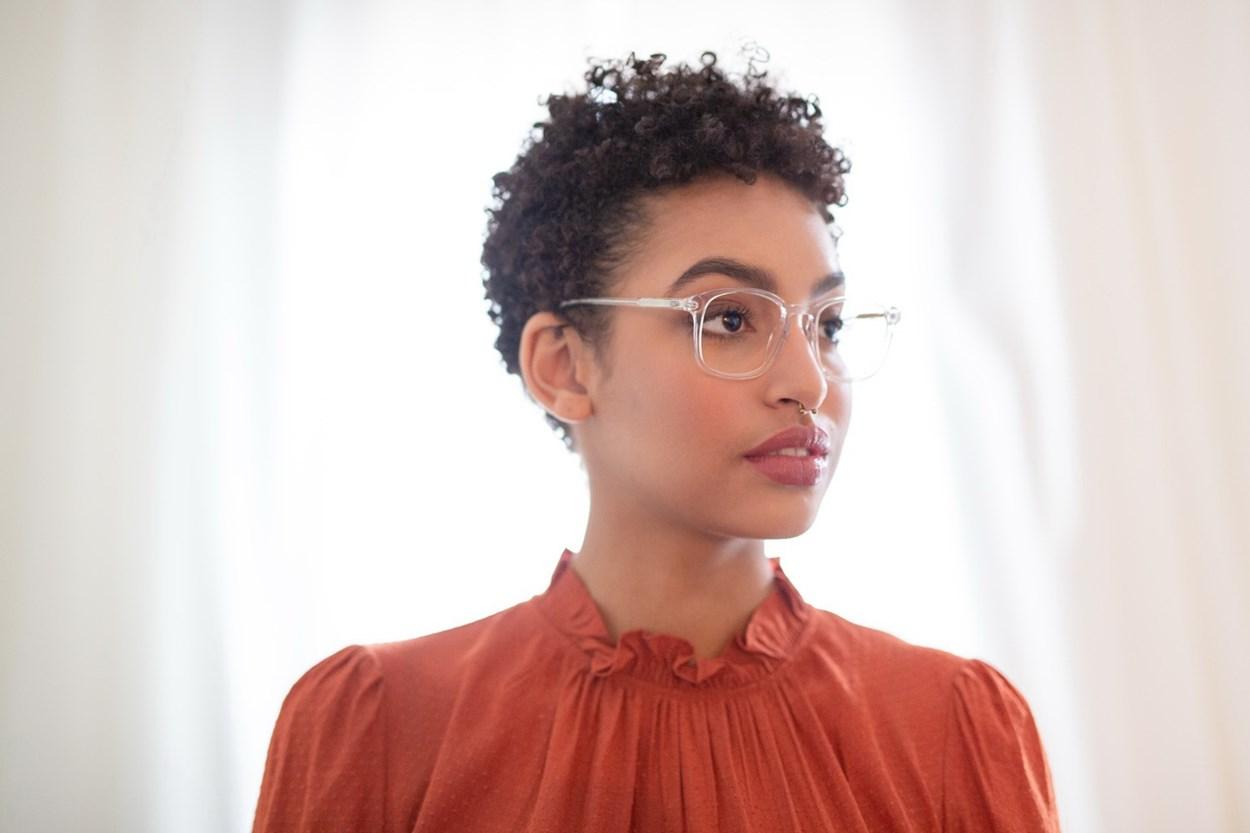 Alternate Image 1 - Lunettos Regina Clear Glasses