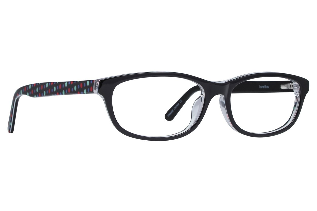 Lunettos Samantha Black Glasses