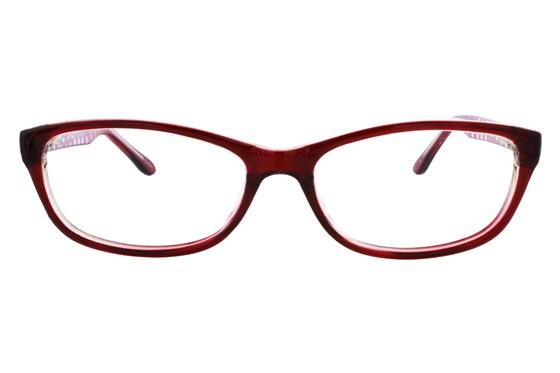 Lunettos Samantha Red Glasses