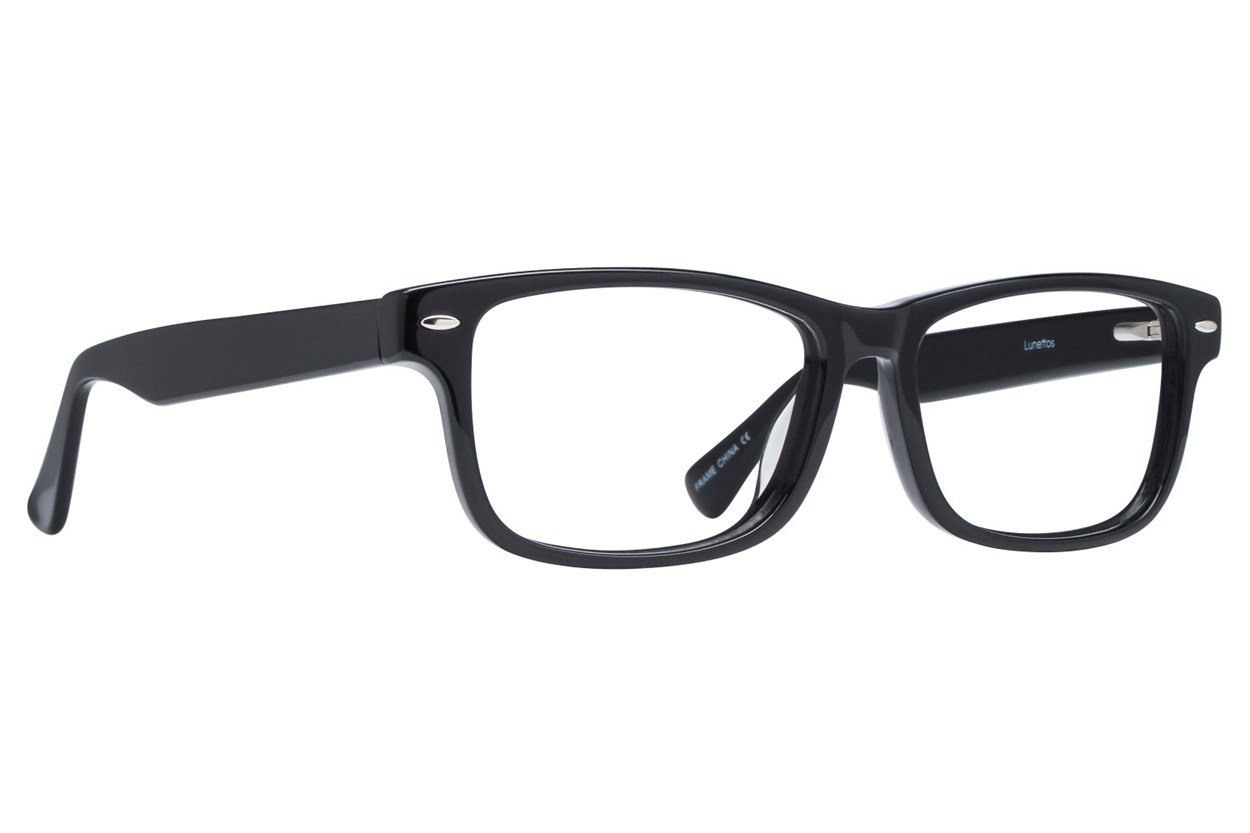 Lunettos Parker Black Glasses