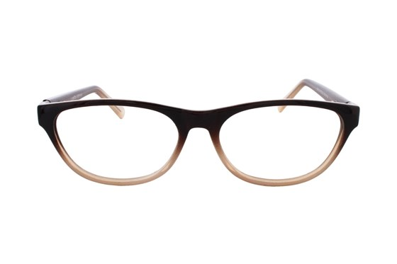 Lunettos Stephana Brown Glasses