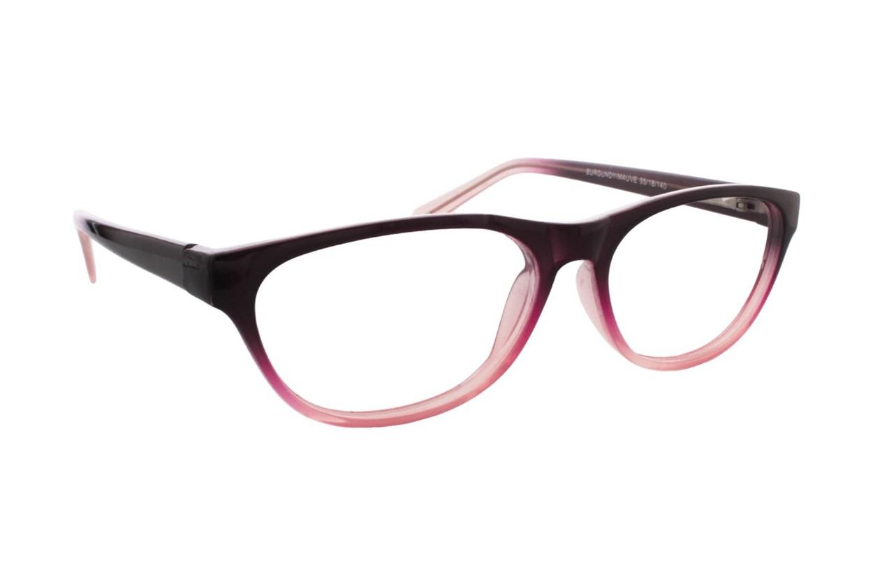 Lunettos Stephana Red Glasses