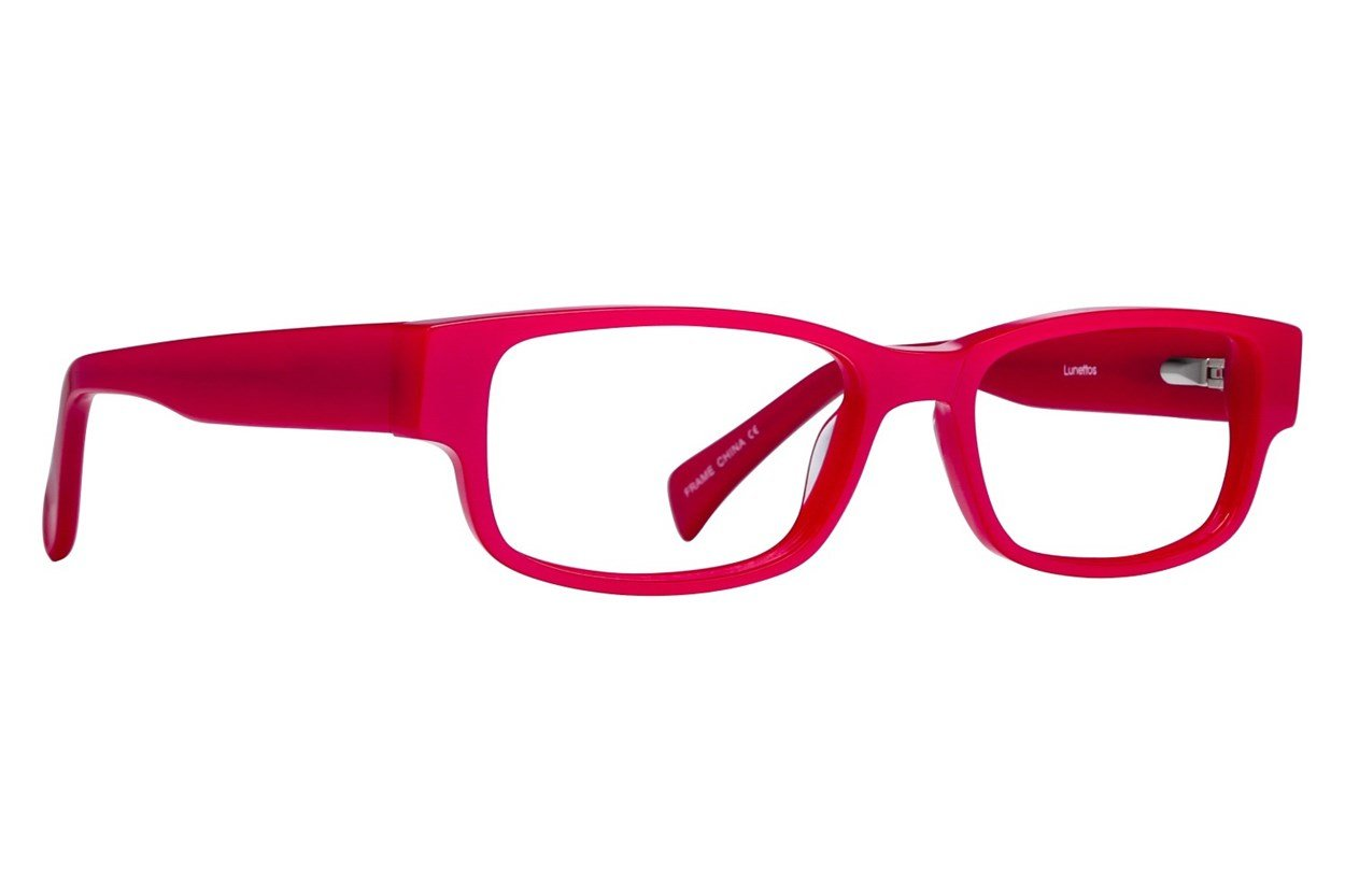 Lunettos Taylor Petite 49 Red Glasses