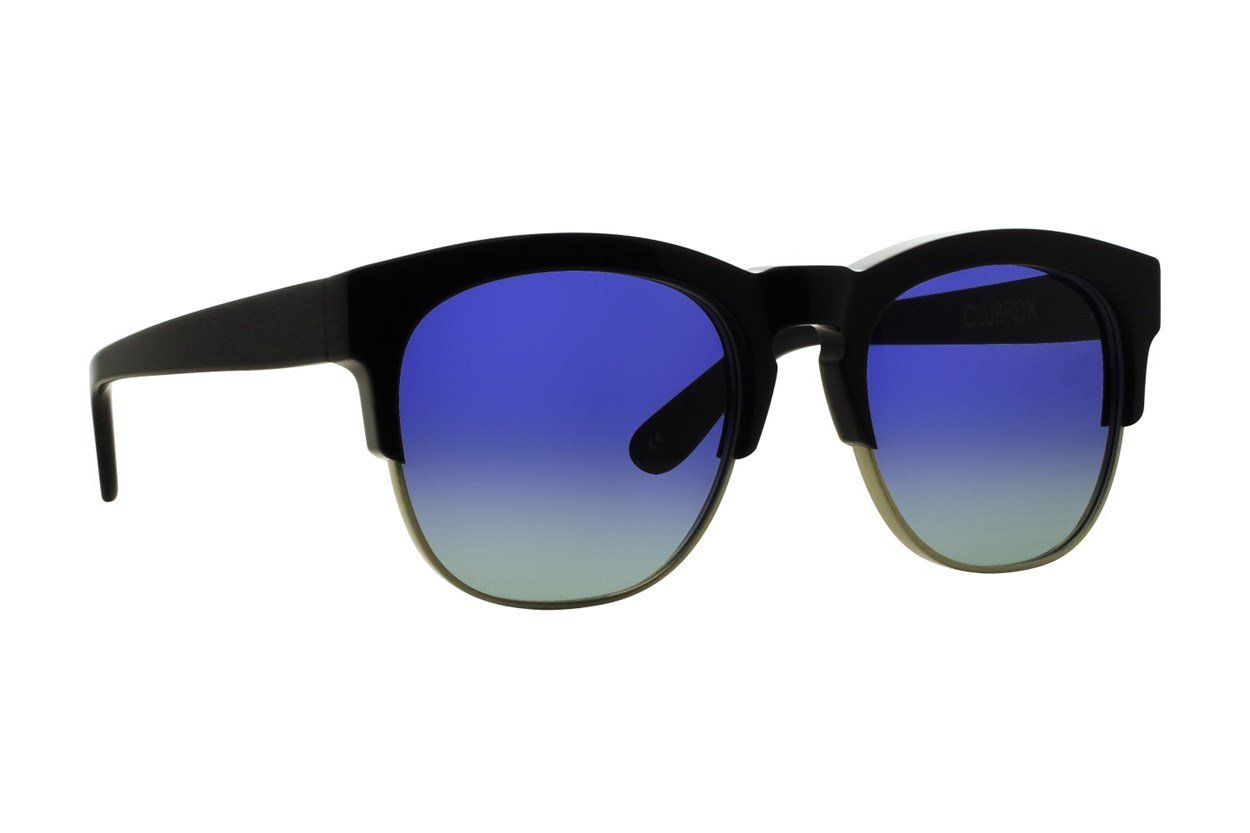 Wildfox Club Fox Sunglasses - Blue